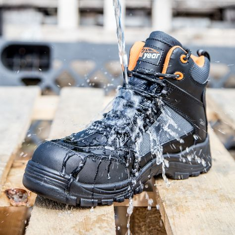 Safety Shoes Water & Chemical Resistant